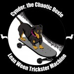 Cynder the Chaotic Dachshund Logo