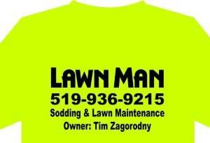 lawn man logo